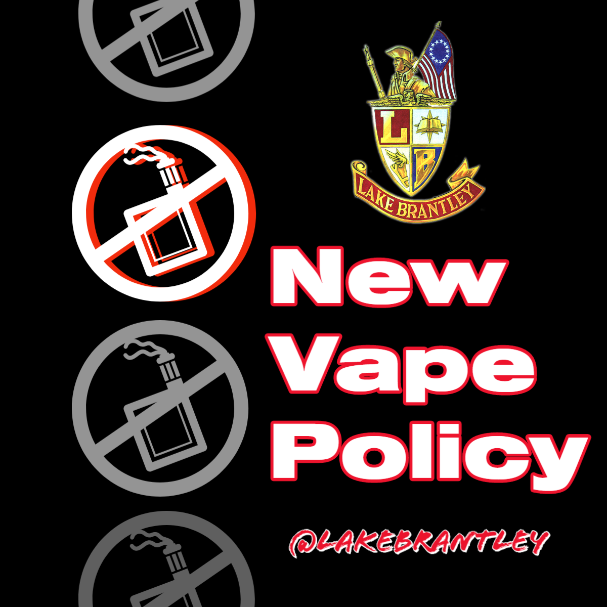 LBHS VAPE New Policy