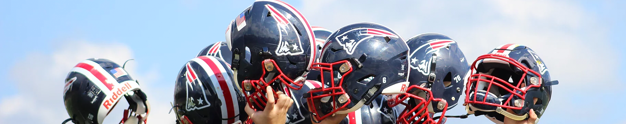 Brantley Patriots Helmets
