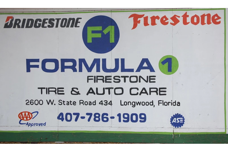 Formula 1 Firestone Tire & Auto Care